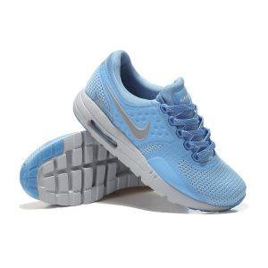 евтини nike air max zero дамски обувки за бягане синьо сребристо разпродажба