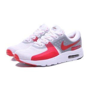 евтини nike air max zero дамски маратонки бяло червено за продажба