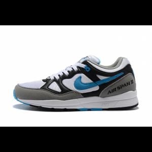 евтини nike air span мъжки обувки черно бяло синьо