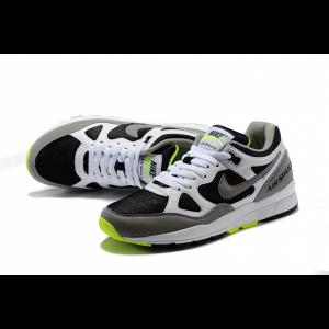 евтини nike air span мъжки обувки черно бяло зелено