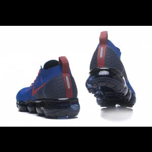 евтини nike air vapormax flyknit 2.0 мъжки обувки синьо червено