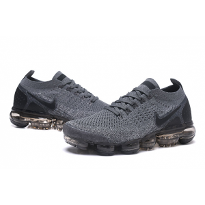 евтини nike air vapormax flyknit 2.0 мъжки обувки сиво