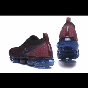 евтини nike air vapormax flyknit 2.0 мъжки обувки вино червено синьо