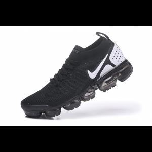 евтини nike air vapormax flyknit 2.0 дамски обувки черно бяло