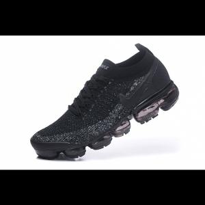 евтини nike air vapormax flyknit 2.0 дамски обувки черни на едро