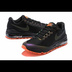 евтини nike air vapormax flyknit мъжки обувки черно оранжево