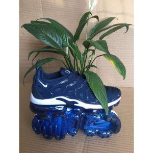 евтини nike air vapormax plus мъжки обувки за бягане синьо бяло за продажба