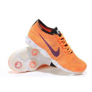 евтини nike air zoom fit agility flyknit мъжки обувки за бягане бели черни оранжеви за продажба