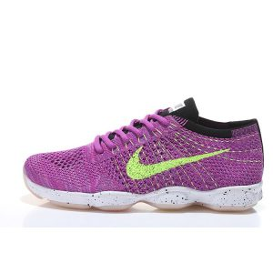 евтини nike air zoom fit agility flyknit дамски обувки за бягане лилаво флуоресцентно зелено аутлет