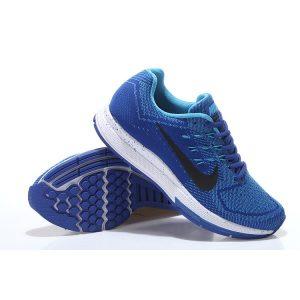 евтини nike air zoom structure 18 мъжки обувки за бягане кралско синьо бяло изложение продажба
