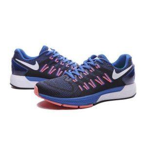 евтини nike air zoom structure 20 мъжки обувки за бягане розово синьо черно за продажба