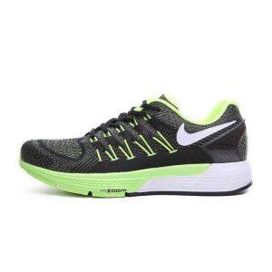 евтини nike air zoom structure 20 мъжки обувки за бягане черни зелени аутлет