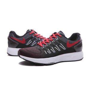 евтини nike air zoom structure 20 мъжки обувки за бягане черни червени на едро