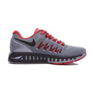 евтини nike air zoom structure 20 жени обувки за бягане червено сиво за продажба