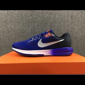 евтини nike air zoom structure 21 мъжки обувки сини за продажба