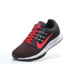 евтини nike air zoom structure женски обувки за бягане черни червени на едро