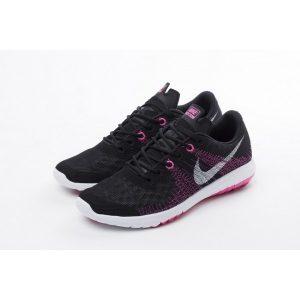 евтини nike flex series дамски обувки за бягане черна праскова за продажба
