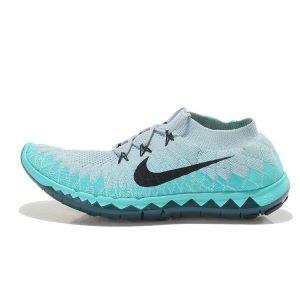 евтини nike free 3.0 flyknit мъжки обувки за бягане сиво изумрудено зелено продажба