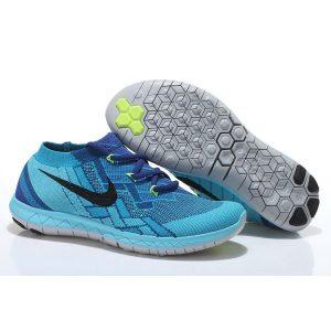 евтини nike free 3.0 flyknit мъжки обувки за бягане светлосиньо изложение