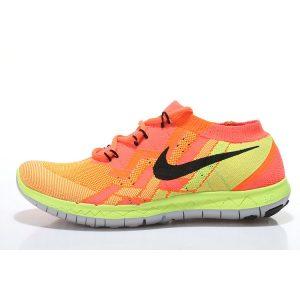 евтини nike free 3.0 flyknit мъжки обувки за бягане оранжево флуоресцентно зелено изход