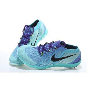 евтини nike free 3.0 flyknit дамски обувки за бягане синьо лилаво за продажба