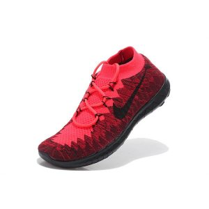 евтини nike free 3.0 мъжки обувки за бягане диня червено черно за продажба