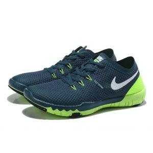 евтини nike free 3.0 v3 flywire мъжки обувки за бягане тъмно синьо флуоресцентно зелено на пазара