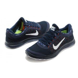 евтини nike free 3.0 v6 мъжки обувки за бягане черно бяло оранжево на едро