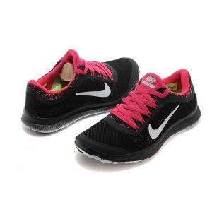 евтини nike free 3.0 v6 дамски обувки за бягане черно розово продажба на изхода