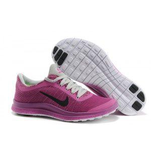евтини nike free 3.0 v6 дамски обувки за бягане черно лилаво сиво за продажба