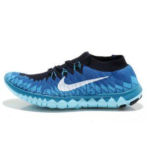 евтини nike free 3.0 дамски обувки за бягане синьо черно аутлет