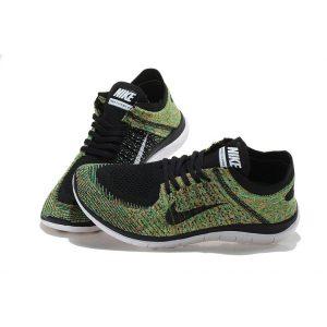 евтини nike free 4.0 flyknit мъжки обувки за бягане черни бели цветове на едро