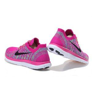 евтини nike free 4.0 flyknit дамски обувки за бягане прасковени цветове за продажба