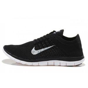 евтини nike free 4.0 flyknit дамски обувки за бягане бяло черно изход продажба