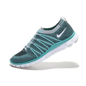 евтини nike free 5.0 flyknit мъжки обувки за бягане светло синьо сиво изход