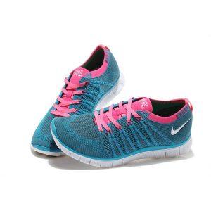 евтини nike free 5.0 flyknit мъжки обувки за бягане кралско синьо праскова аутлет