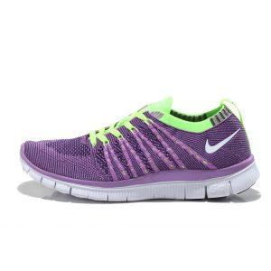 евтини nike free 5.0 flyknit дамски обувки за бягане флуоресцентно зелено лилаво изход