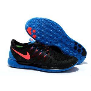 евтини nike free 5.0 мъжки обувки за бягане черно кралско синьо оранжево на изхода продажба