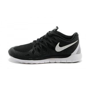 евтини nike free 5.0 мъжки обувки за бягане черни бели аутлет продажба