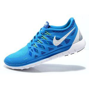 евтини nike free 5.0 мъжки обувки за бягане синьо флуоресцентно зелено бяло изход