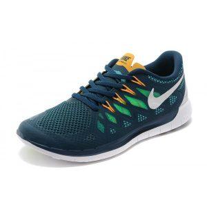 евтини nike free 5.0 мъжки маратонки за бягане синьо зелено или розово за продажба