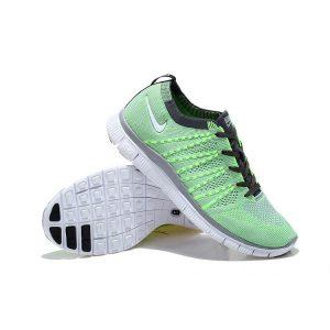 евтини nike free 5.0 мъжки обувки за бягане зелено черно за продажба