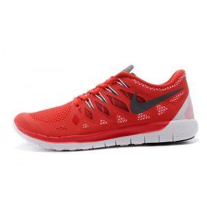 евтини nike free 5.0 мъжки обувки за бягане бяло червено изход продажба