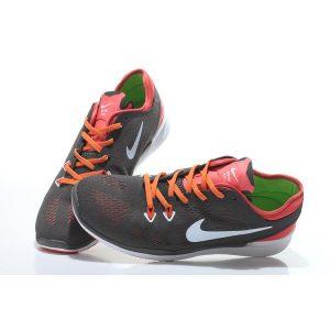 евтини nike free 5.0 v2 тренировъчни мъжки обувки за бягане въглеродно сиво оранжево продажба на изхода