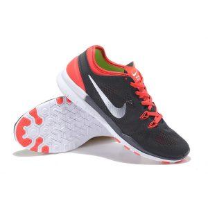 евтини nike free 5.0 v2 trainning мъжки обувки за бягане черно червено бяло за продажба
