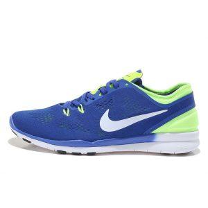евтини nike free 5.0 v2 тренировъчни мъжки обувки за бягане кралско синьо флуоресцентно зелено за продажба