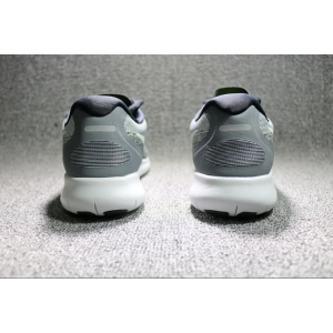 евтини nike free run flyknit 2017 мъжки обувки сиво бяло