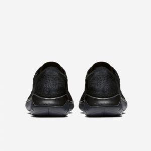 евтини nike free run flyknit 2018 дамски обувки черни