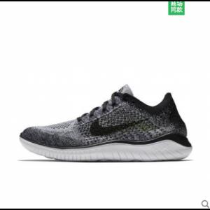 евтини nike free run flyknit 2018 дамски обувки черни сиви