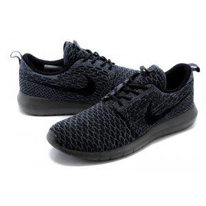 евтини nike roshe run мъжки обувки за бягане тъмно сиво изложение продажба